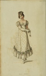 1815 Gants longs, Ball Dress